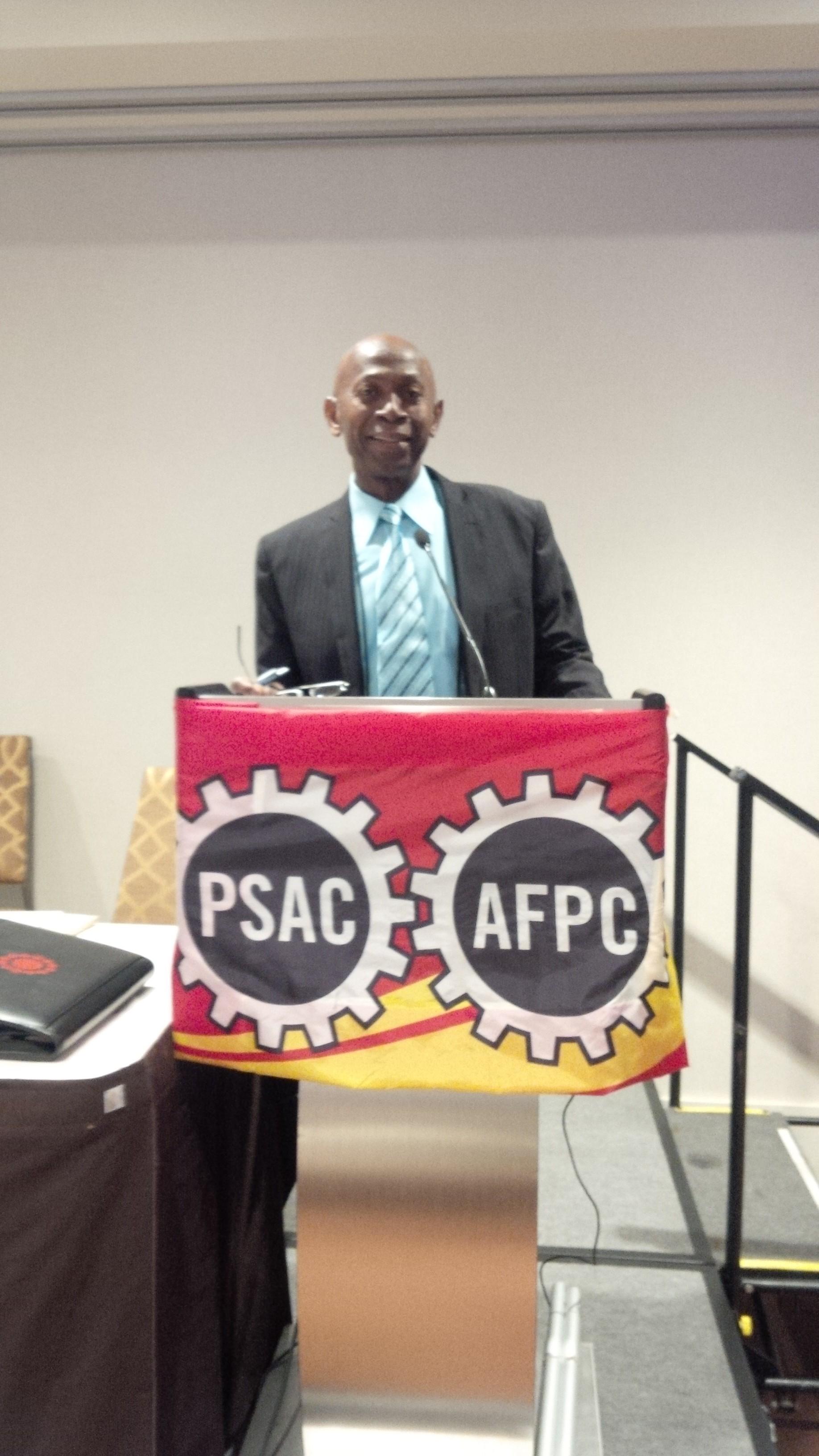 Lloyd Brown: Visible Minority Members Representative PSAC